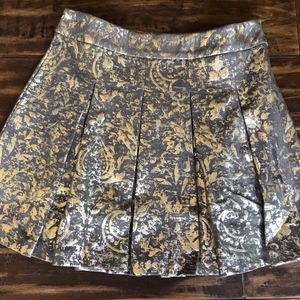 Mark By Avon Women's Strike it Rich Gold Skirt